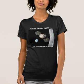 Nous retournons à la lune t-shirt