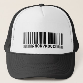 - Nous sommes anonymes - casquette anonyme de code