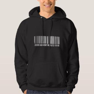 - Nous sommes anonymes - sweat - shirt à capuche