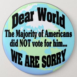 nous sommes désolés badge
