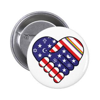 Nous sommes l'Amérique Badges