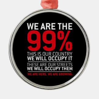 Nous sommes les 99% - 99 pour cent occupent Wall S Décorations De Noël
