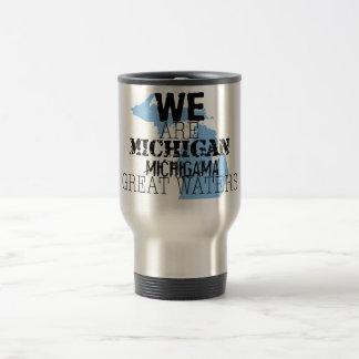 Nous sommes les grandes eaux du Michigan Michigama Tasse