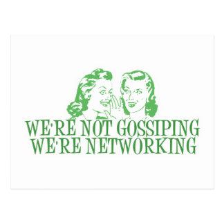 Nous sommes ne bavardant pas nous sommes vert de carte postale