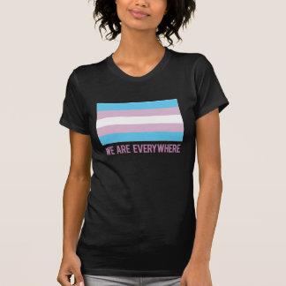 Nous sommes partout chemise (le transsexuel) t-shirt