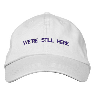 Nous sommes toujours ici casquette réglable