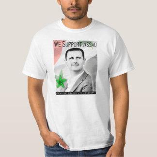 Nous soutenons Bashar Assad ! T-shirt