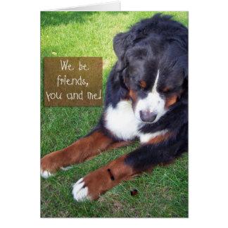 Nous soyons des amis ! cartes