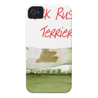 nous terriers de Russell de cric de luv de Coques Case-Mate iPhone 4
