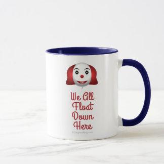 Nous tous flottons vers le bas ici mug