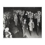 Nous voulons la bière ! Interdiction Protest, 1931 Toiles Tendues Sur Châssis