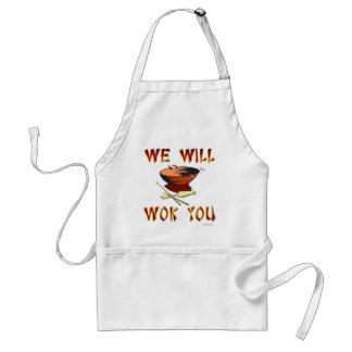 Nous wok vous tablier