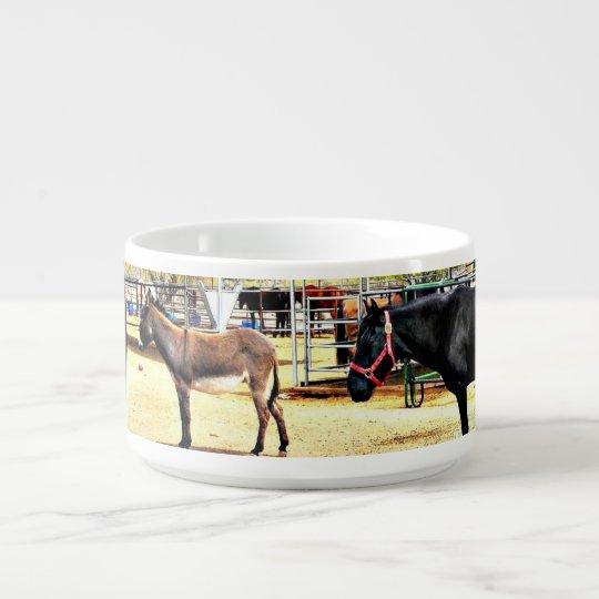 Nouveau bol de piment de chevaux de rivière bol pour chili