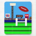 Nouveau cadeau de Mousepad du football de 2012 enf Tapis De Souris