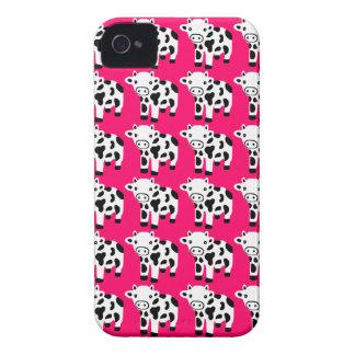 Nouveau cadeau mignon de cas de l'iPhone 4 de vach Coque iPhone 4