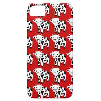Nouveau cadeau rouge mignon de cas de l'iPhone 5 d