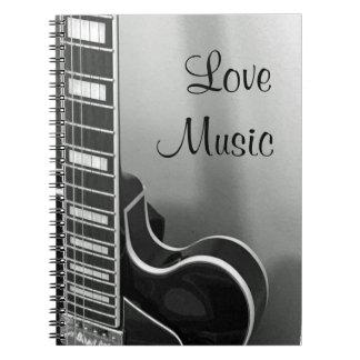 NOUVEAU carnet personnalisable de musique d'amour