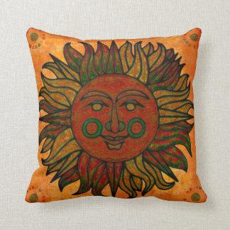 Nouveau carreau de décor de Sun d'âge de récolte Coussins Carrés