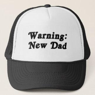 Nouveau casquette d'avertissement de papa