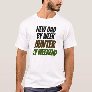 Nouveau chasseur de papa t-shirt