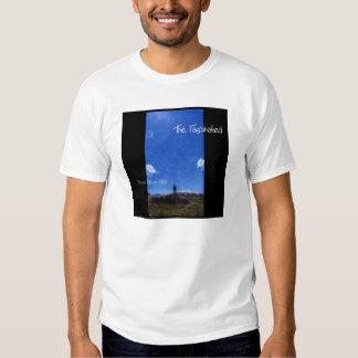 Nouveau ciel bleu t-shirts