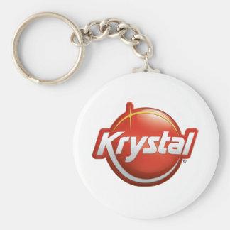Nouveau logo de Krystal Porte-clé Rond