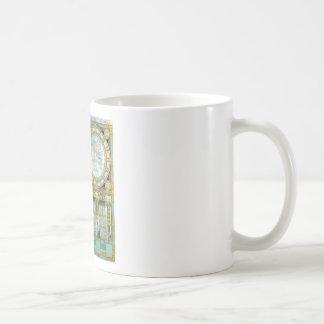 Nouveau Monde - Vieux-Cartographique-Cartes Mug Blanc
