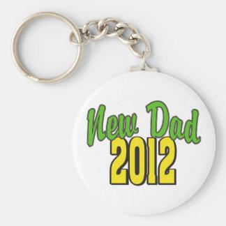 Nouveau papa 2012 porte-clefs