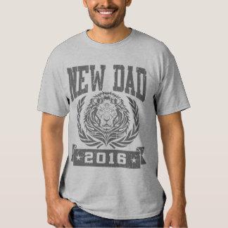 Nouveau papa 2016 t-shirt