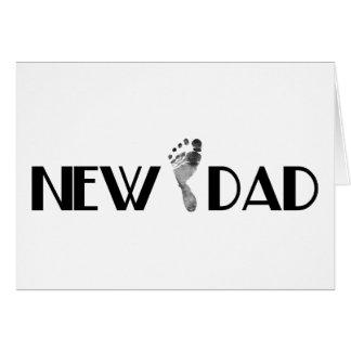 Nouveau papa carte de vœux