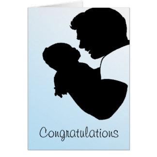 nouveau papa, félicitations carte de vœux