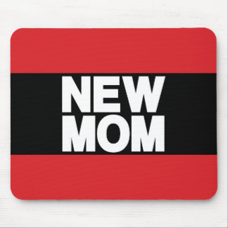 Nouveau rouge d atterrisseur de maman tapis de souris
