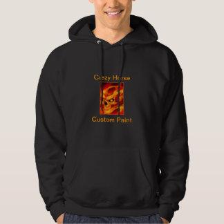 Nouveau sweat - shirt à capuche de crâne du feu