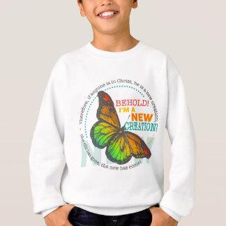 Nouveau sweatshirt de papillon de création