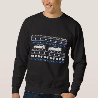 Nouveau sweatshirt de voiture de Turbo de Noël