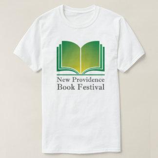 Nouveau T-shirt de festival de livre de Providence