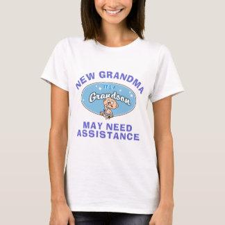Nouveau T-shirt de petit-fils de nouvelle