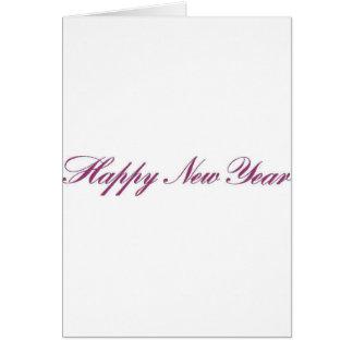 Nouveau year.gif heureux carte de vœux