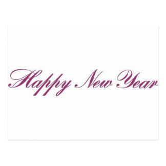 Nouveau year.gif heureux carte postale
