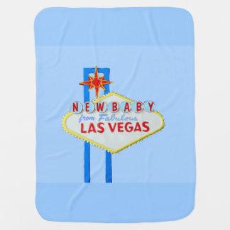 Nouveaux bleus layette de Las Vegas Couverture De Bébé