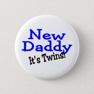 Nouveaux jumeaux de papa badge