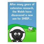 Nouveaux moutons de l'utilisation 4 carte de vœux
