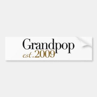Nouvel est 2009 de Grandpop Autocollant De Voiture