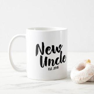 Nouvel oncle Est. 2018, futur oncle Gift Mug