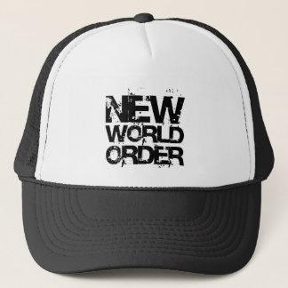 Nouvel ordre mondial casquette