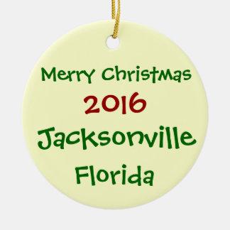 NOUVEL ORNEMENT 2016 DE NOËL DE JACKSONVILLE LA