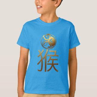 Nouvelle année chinoise de la turquoise 2016 de t-shirt
