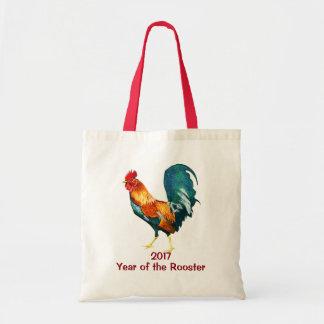 Nouvelle année chinoise du sac fourre-tout 2017 à
