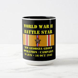 Nouvelle campagne d'opération de groupe de la Géor Mug Bicolore