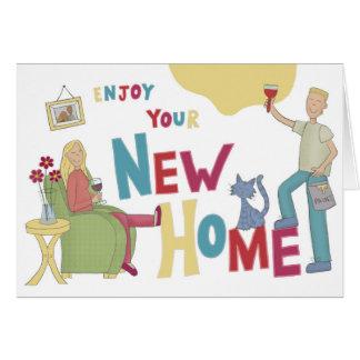 Nouvelle carte à la maison